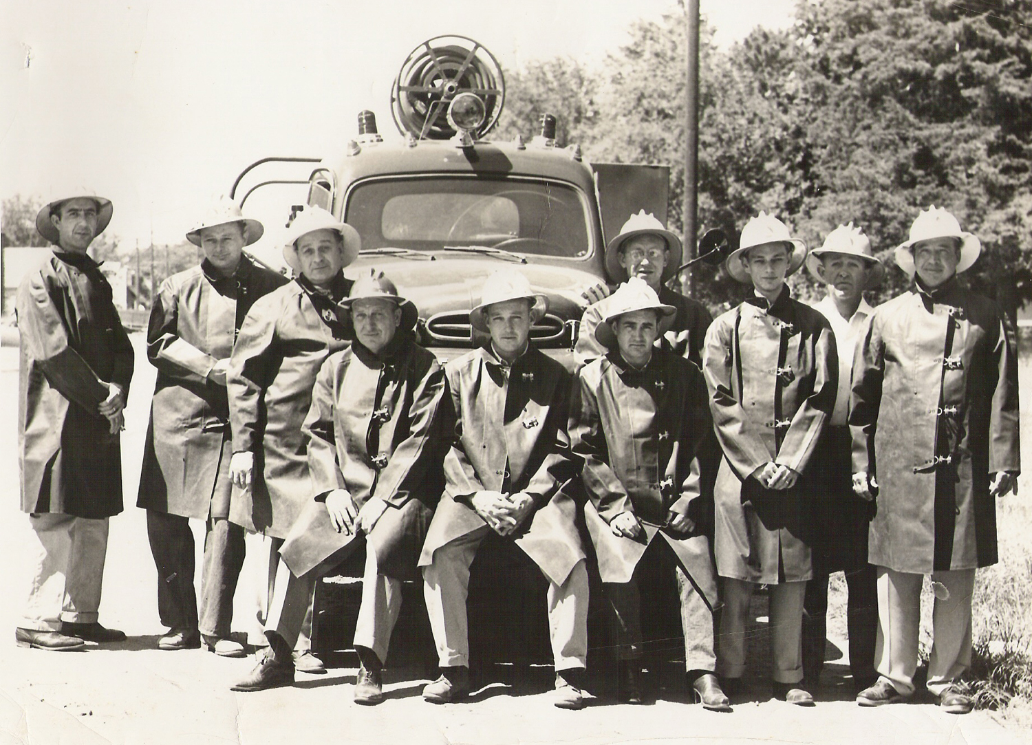 12 Original Members of the Derby Volunteer Fire Department