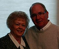 Pat and Susan Swaney