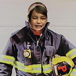 LJ Bansemer firefighter